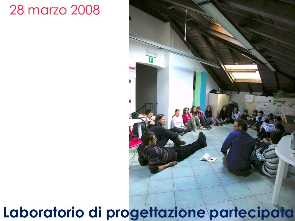 28 marzo 2008 Laboratorio di progettazione partecipata