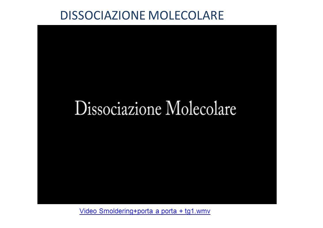 DISSOCIAZIONE MOLECOLARE Video Smoldering+porta a porta + tg1.wmv
