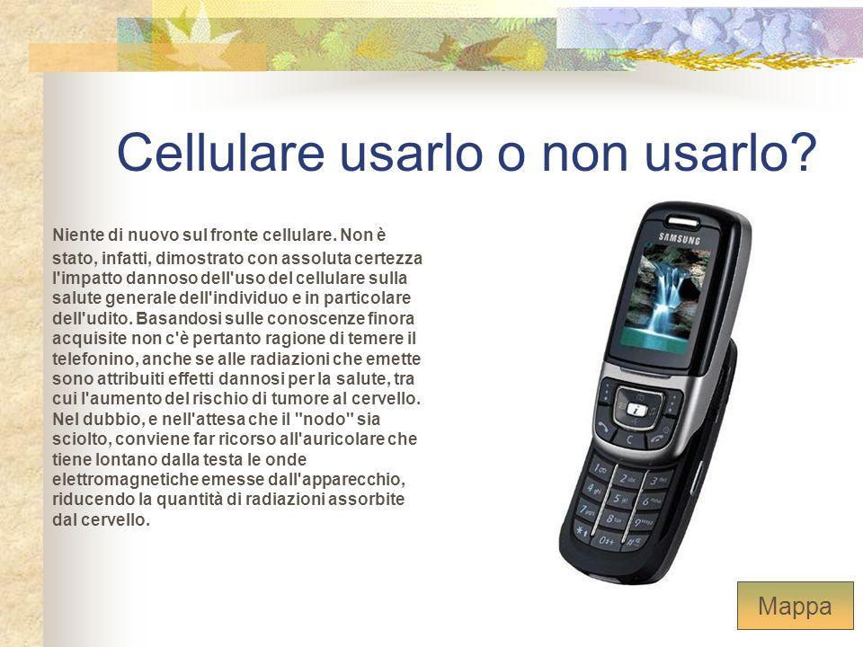 Cellulare usarlo o non usarlo? Niente di nuovo sul fronte cellulare. Non è stato, infatti, dimostrato con assoluta certezza l'impatto dannoso dell'uso
