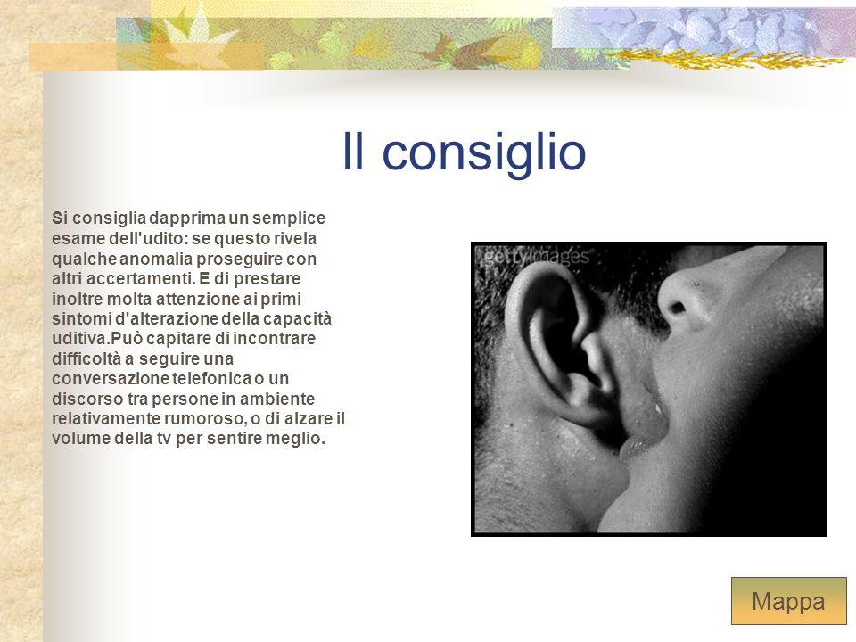 Il consiglio Si consiglia dapprima un semplice esame dell'udito: se questo rivela qualche anomalia proseguire con altri accertamenti. E di prestare in
