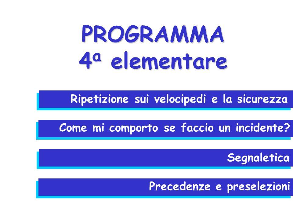 EQUIPAGGIAMENTO DELLA MIA BICICLETTA CLES 2006 / 4° SE