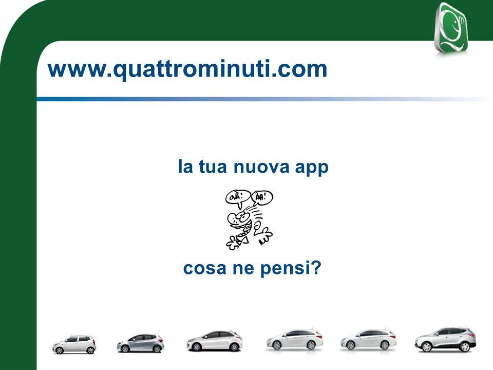 www.quattrominuti.com la tua nuova app cosa ne pensi