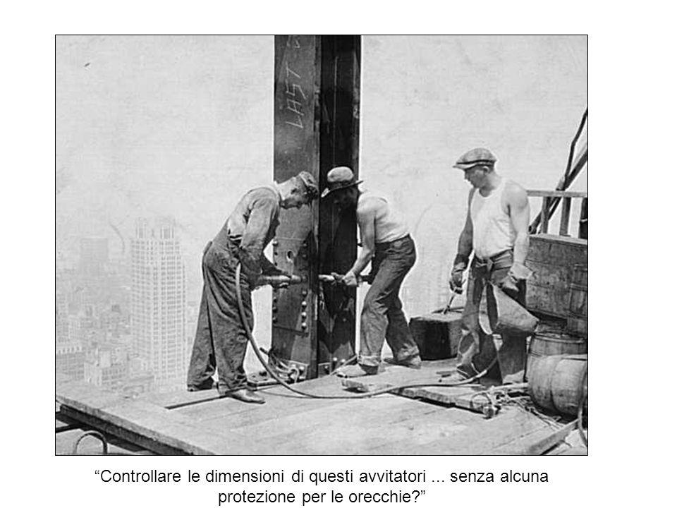 Posti di lavoro di sicurezza e ascensori progetto del 1930.
