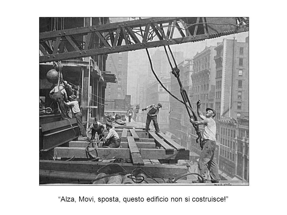 Questo era in un epoca in cui i veri uomini veri costruivano grandi cose, da l Empire State Building per la diga di Hoover, utilizzando la potenza di schiena, muscoli e sudore Sei contento che questi tempi sono cambiati .