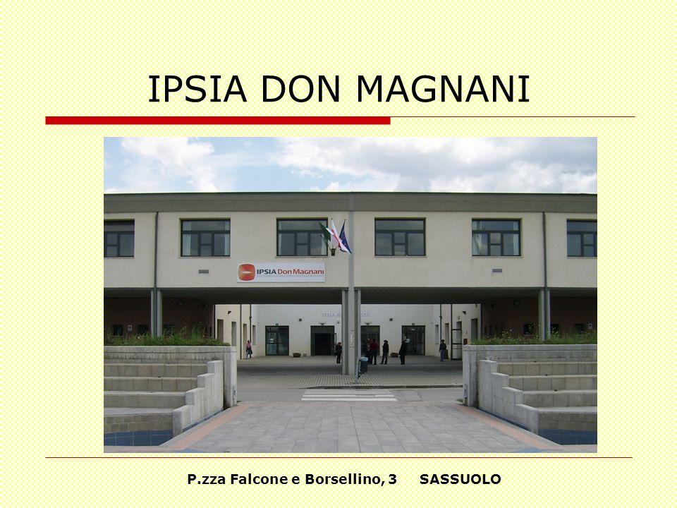 IPSIA DON MAGNANI P.zza Falcone e Borsellino, 3 SASSUOLO