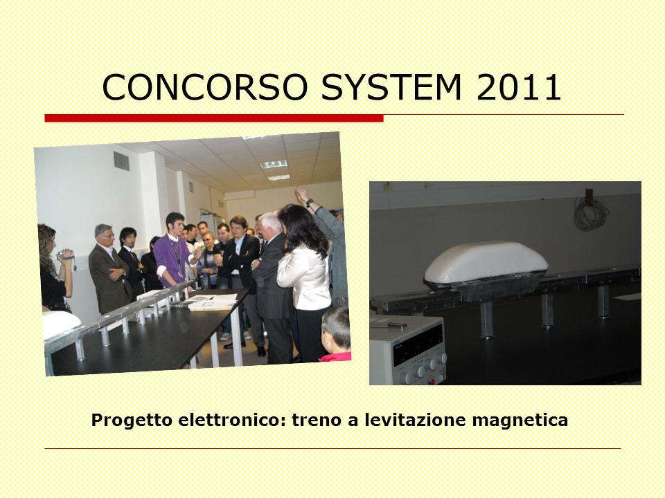 CONCORSO SYSTEM 2011 Progetto elettronico: treno a levitazione magnetica