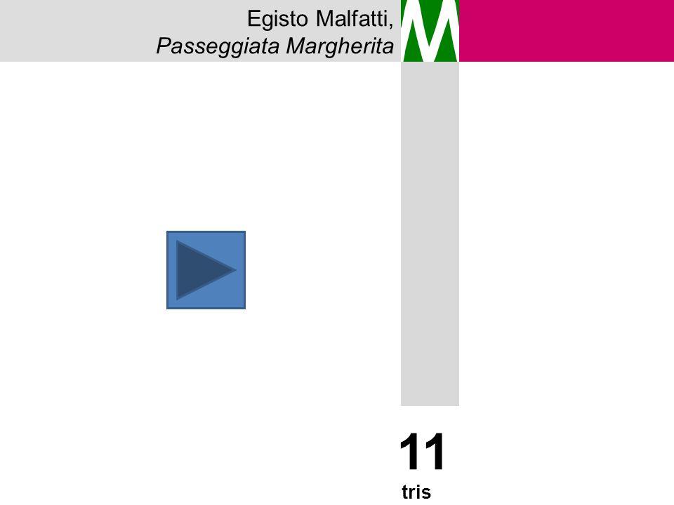 M 11 tris Egisto Malfatti, Passeggiata Margherita