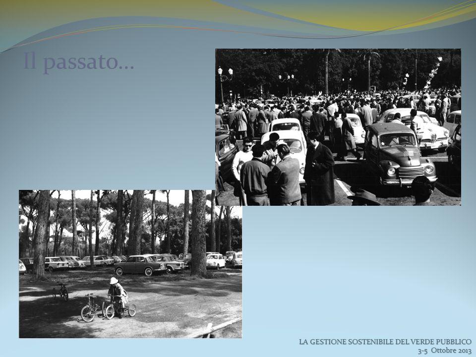 Il passato… LA GESTIONE SOSTENIBILE DEL VERDE PUBBLICO 3-5 Ottobre 2013 3-5 Ottobre 2013
