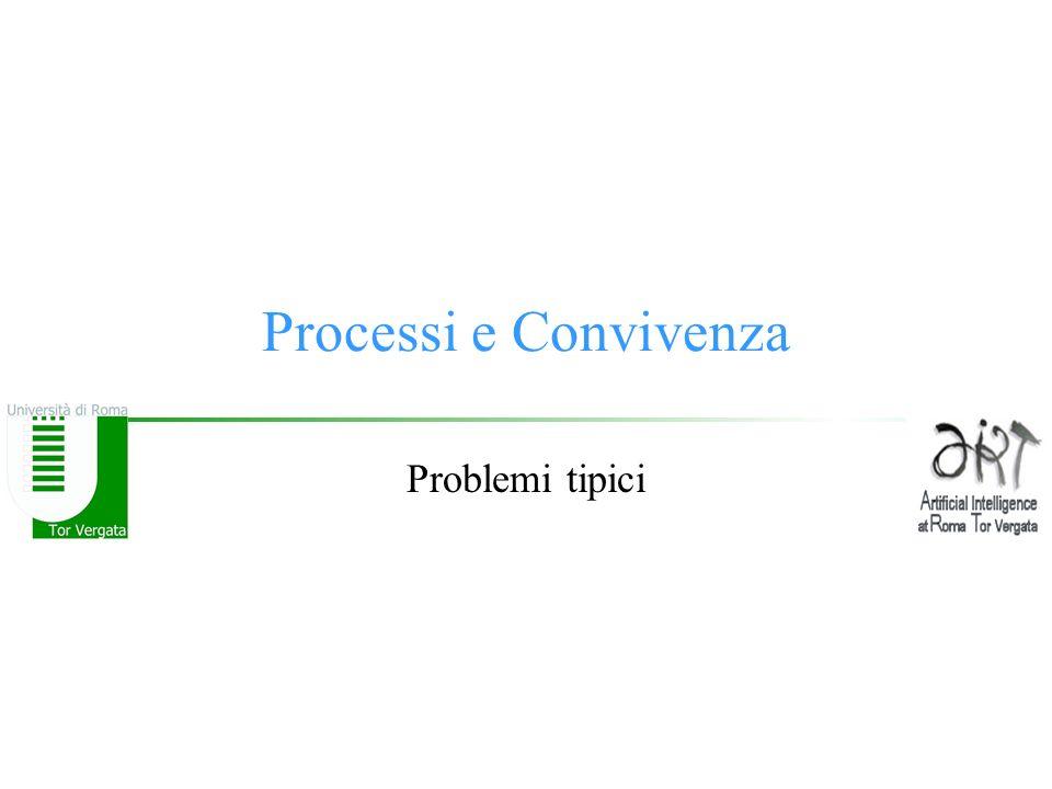 Processi e Convivenza Problemi tipici