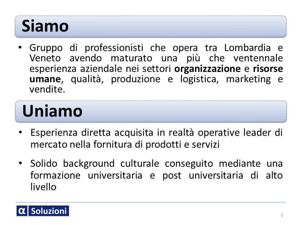 Siamo 2 Gruppo di professionisti che opera tra Lombardia e Veneto avendo maturato una più che ventennale esperienza aziendale nei settori organizzazio