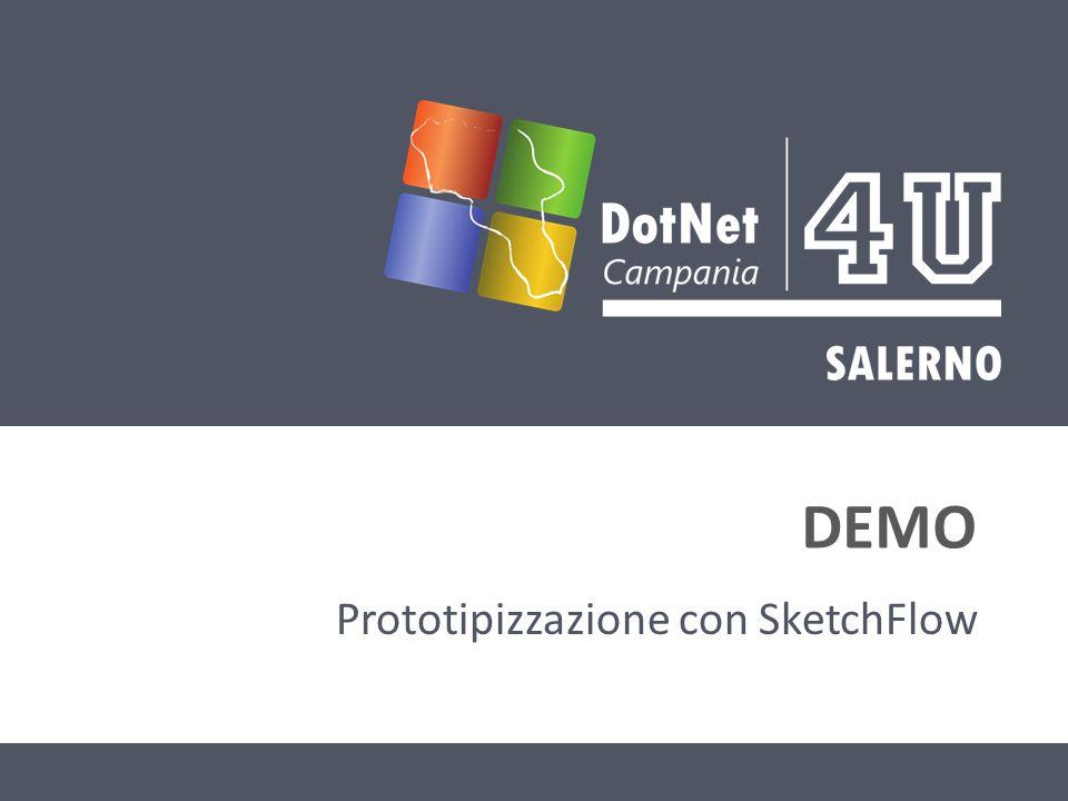 DEMO Prototipizzazione con SketchFlow