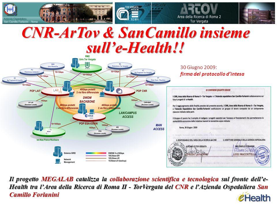 CNR-ArTov & SanCamillo insieme sulle-Health!.