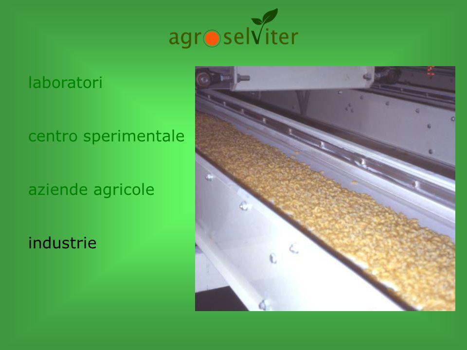 laboratori centro sperimentale aziende agricole industrie azione sul territorio