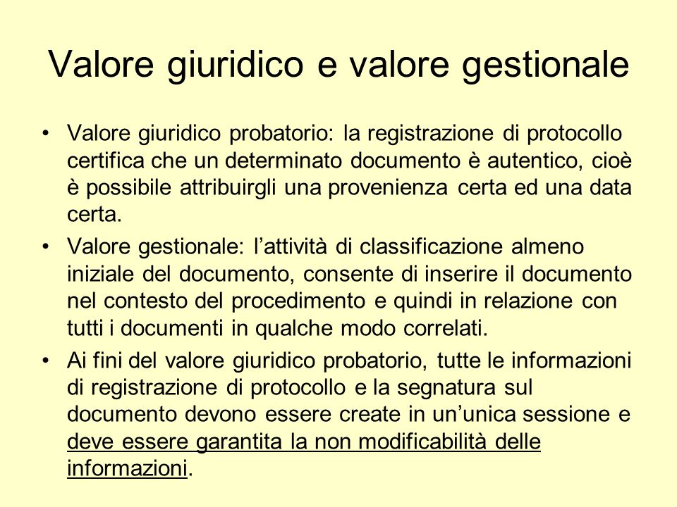 Workflow entrata 1 1.Arrivo del documento: –Digitale –Cartaceo -> digitalizzazione 2.Protocollazione –Classificazione –Assegnazione allUfficio di competenza