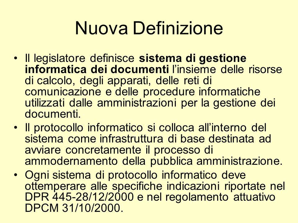 Il Codice dellAmministrazione Digitale Capo III - Formazione, Gestione e Conservazione dei Documenti Informatici Art.
