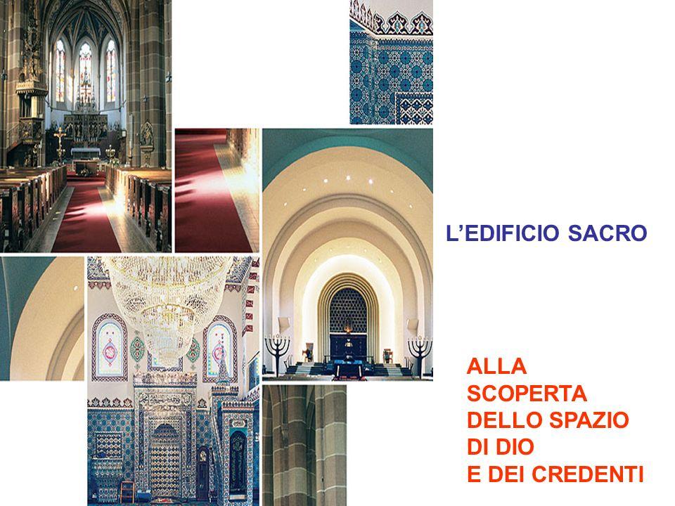 LEDIFICIO SACRO ALLA SCOPERTA DELLO SPAZIO DI DIO E DEI CREDENTI