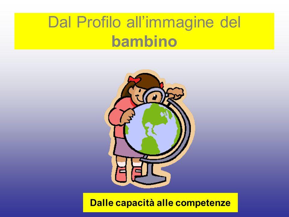 Dalle capacità alle competenze Dal Profilo allimmagine del bambino