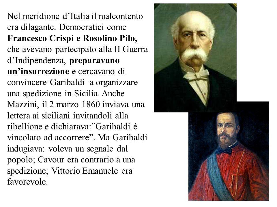 Tuttavia il Veneto restava ancora sotto gli austriaci, Nizza e Savoia erano state cedute alla Francia in cambio dellaiuto prestato nella guerra, Roma