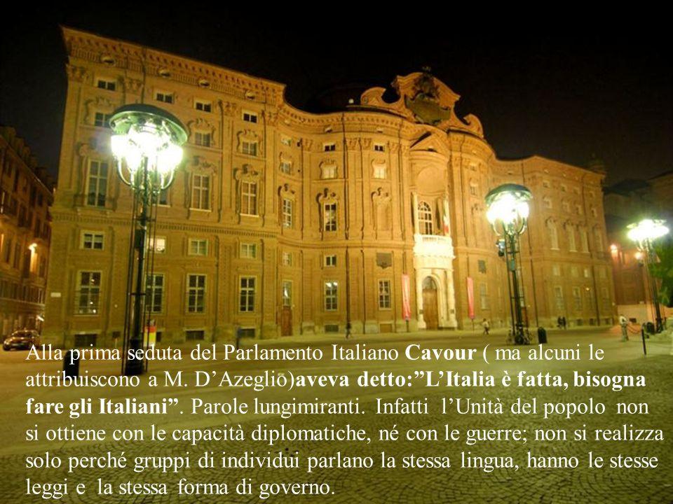 Catania partecipò attivamente alle vicende che portarono allUnità. Fu ottava fra le ventisette città decorate con Medaglia doro come benemerite del Ri