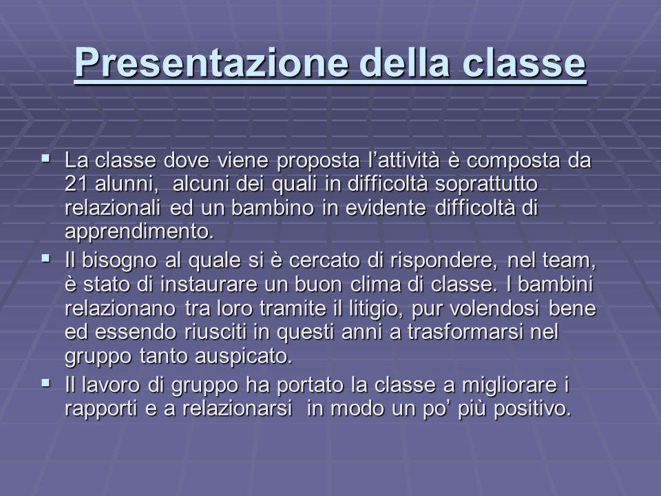 Studio dellEmilia Romagna Lattività viene svolta utilizzando il Cooperative Learning.