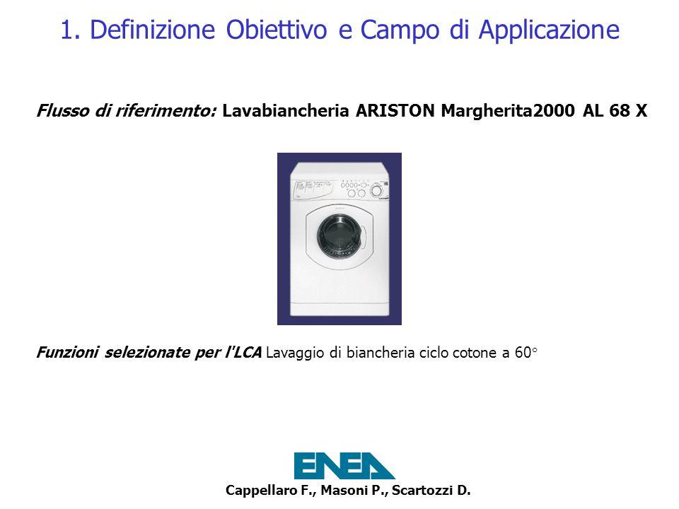Cappellaro F., Masoni P., Scartozzi D.2. LCI - Analisi dinventario 5.