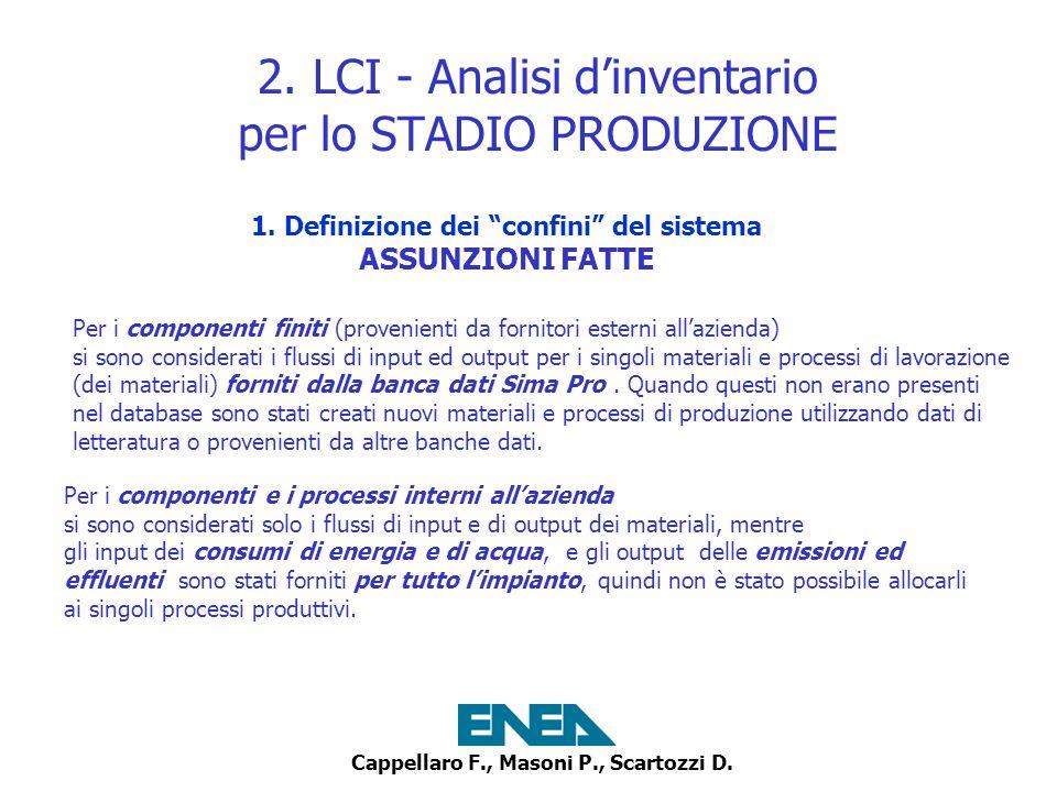 Cappellaro F., Masoni P., Scartozzi D.2.