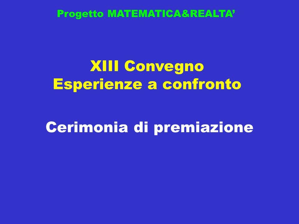 Progetto MATEMATICA&REALTA Polo INNOVAMATICA 2010-2011 Premio GIURIA POPOLARE