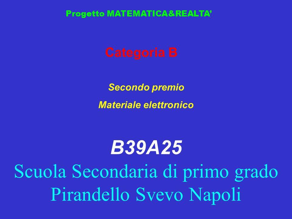 Progetto MATEMATICA&REALTA … a lezione di mateplantula Unità Locale IC F.