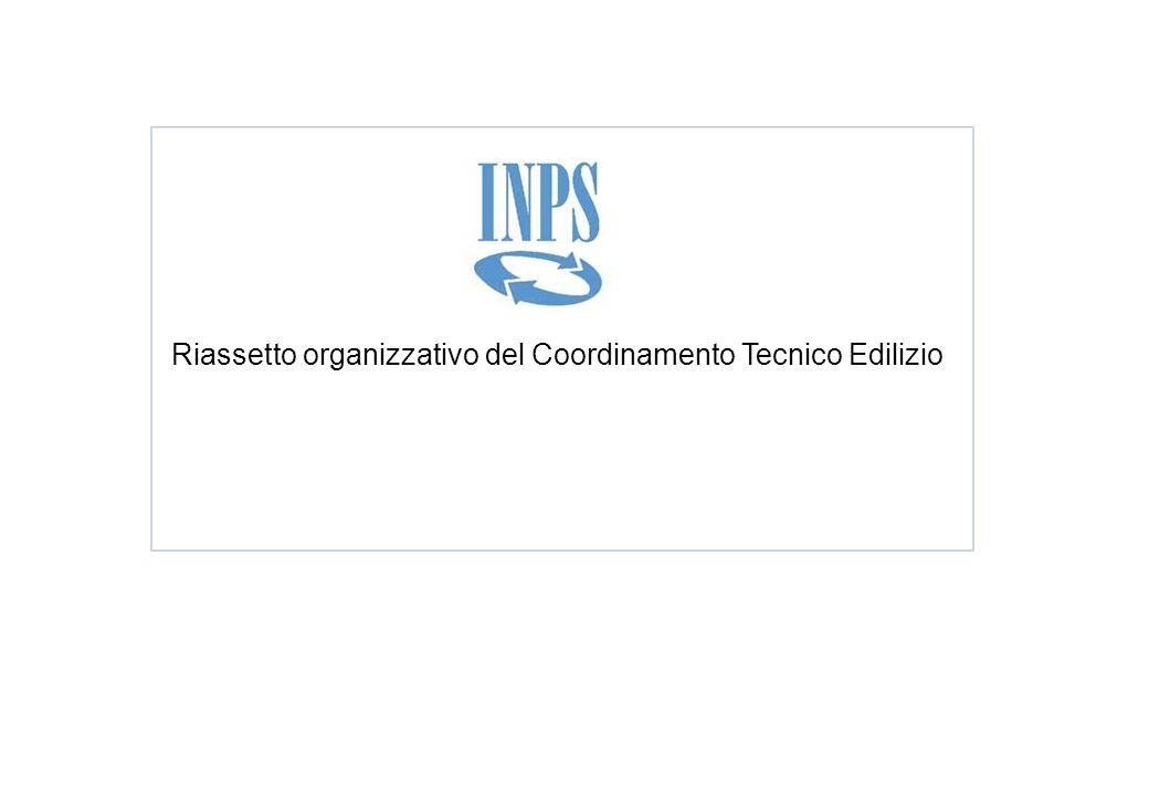 Riassetto organizzativo del Coordinamento Tecnico Edilizio