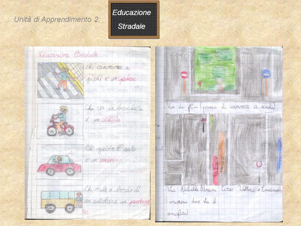 Educazione Stradale Come sono f atte le cose Unità di Apprendimento 2: