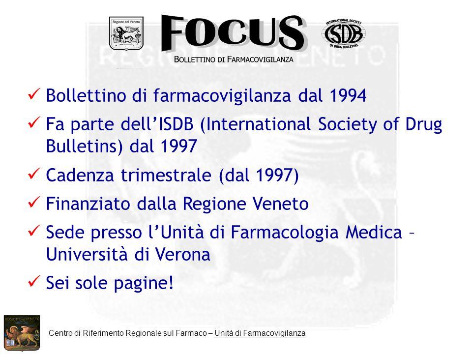 Centro di Riferimento Regionale sul Farmaco – Unità di Farmacovigilanza To help sell a product, service, etc.