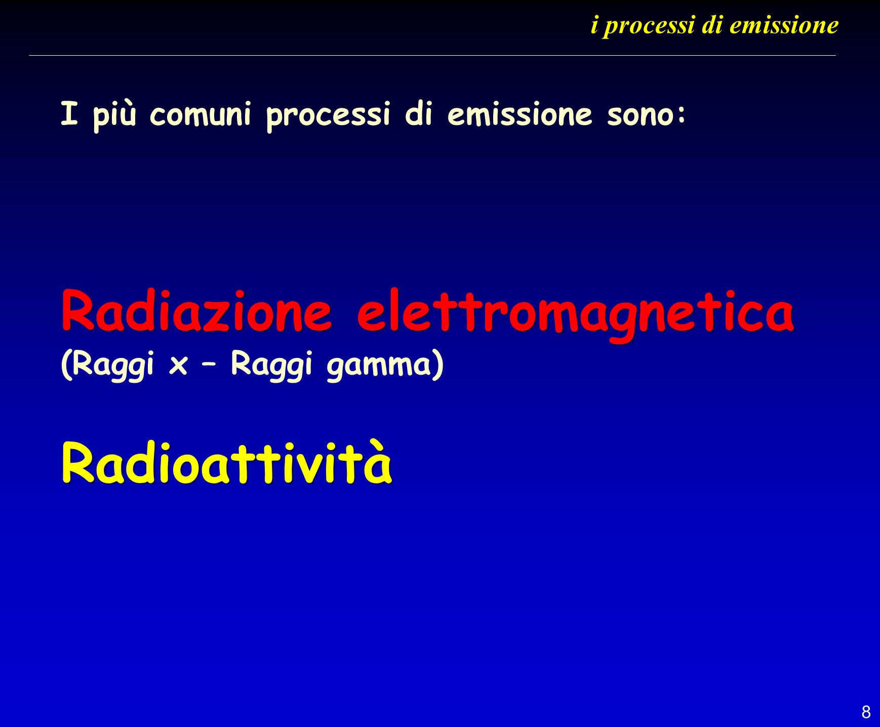 59 modalità di esposizione nelle sale radiologiche
