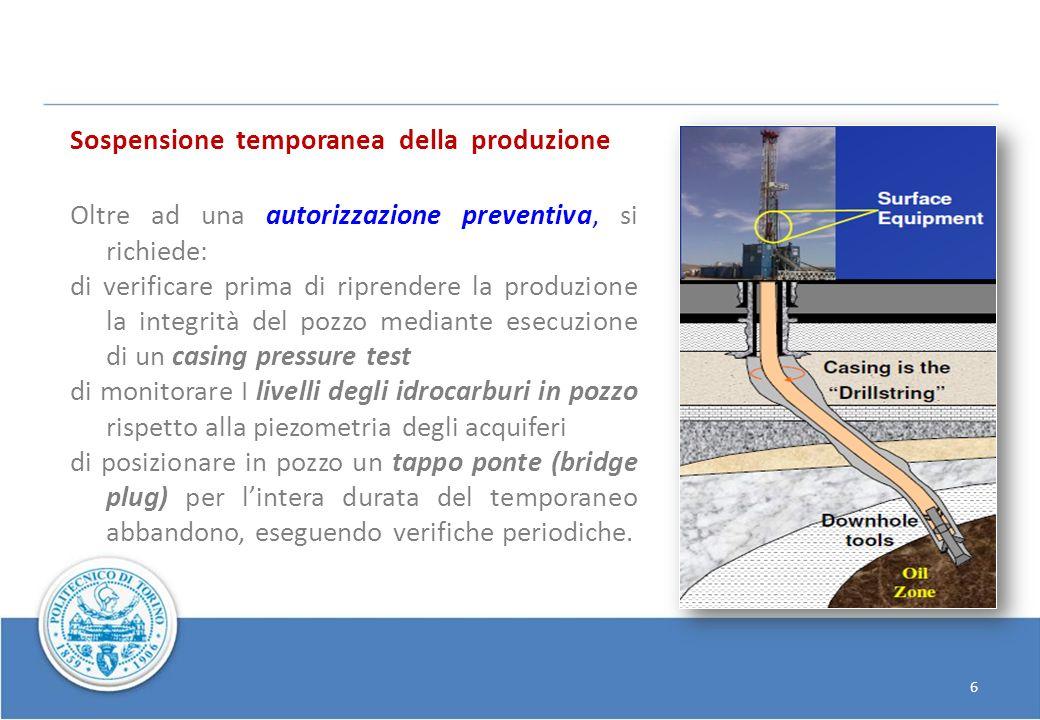 6 Sospensione temporanea della produzione Oltre ad una autorizzazione preventiva, si richiede: di verificare prima di riprendere la produzione la inte