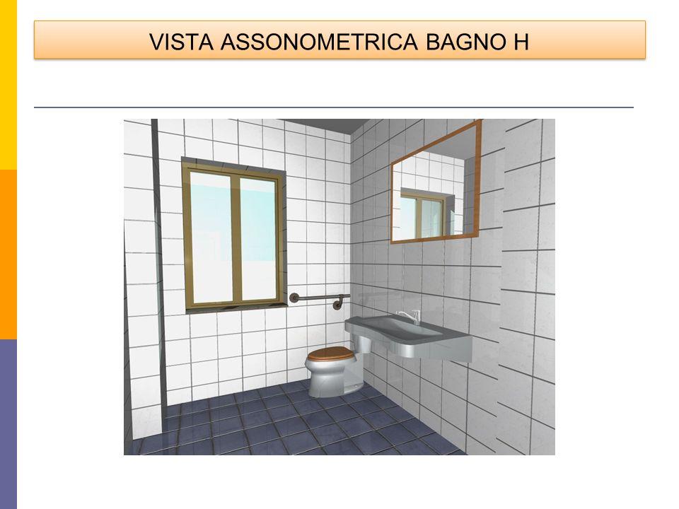 VISTA ASSONOMETRICA BAGNO H