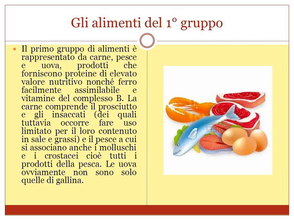 Gli alimenti del 2° gruppo Il secondo gruppo è rappresentato dal latte e dai suoi derivati (yogurt, latticini e formaggi).