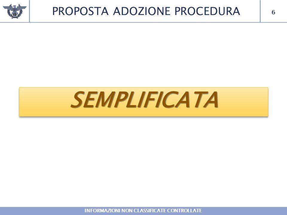 7 SEMPLIFICATASEMPLIFICATAPROCEDURAENTESEDENOTESEMPLIFICATA COMSUPFOTER ROMA Riconfigurazione in COMFORDOT QG EUROFOR FIRENZE Il personale confluisce nel RCSL della D.