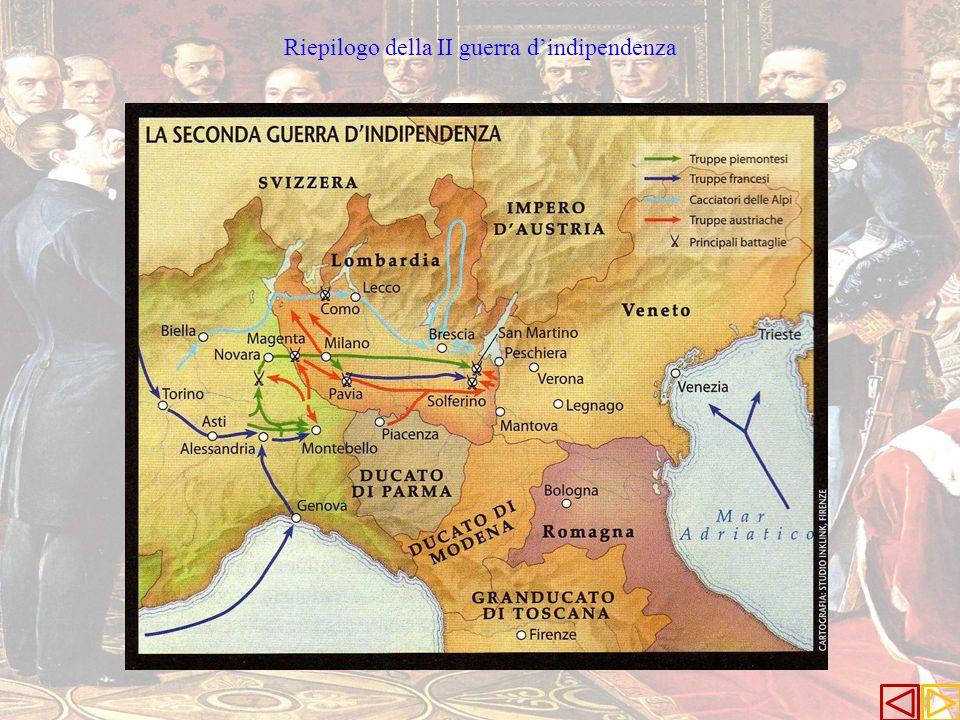 Riepilogo della II guerra dindipendenza