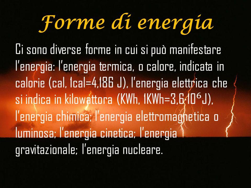 Lenergia in fisica si considera come un concetto astratto e non ha elementi misurabili per essere definita.