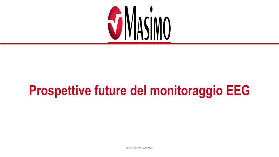 ©2013 Masimo Corporation Prospettive future del monitoraggio EEG