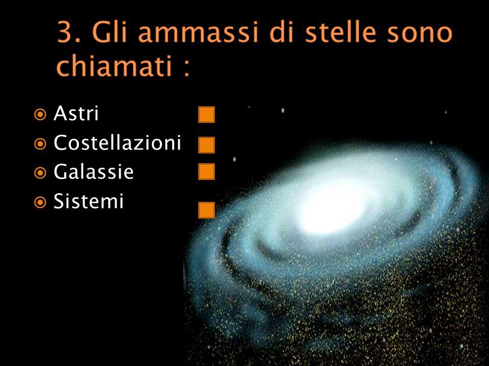 Anno luce Chilometri Unità astronomica Miglia