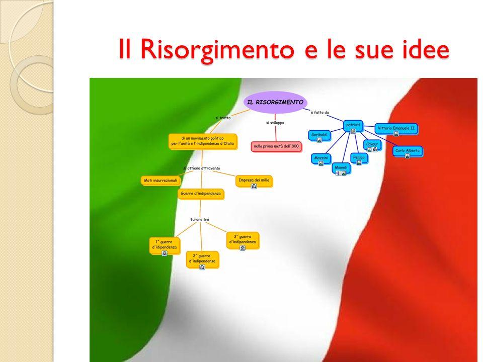 Il Risorgimento e le sue idee