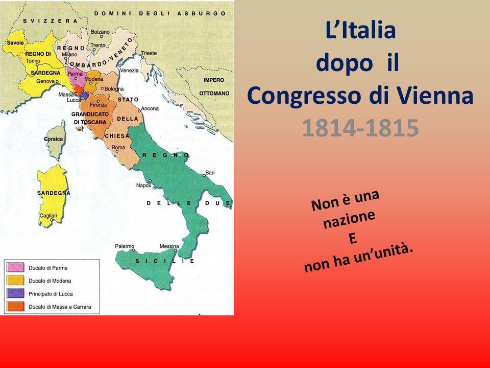 La Terza Guerra dIndipendenza (1866) E Presa di Roma 17 marzo 1861 - il nuovo Regno non controllava ancora né Venezia, né Roma.