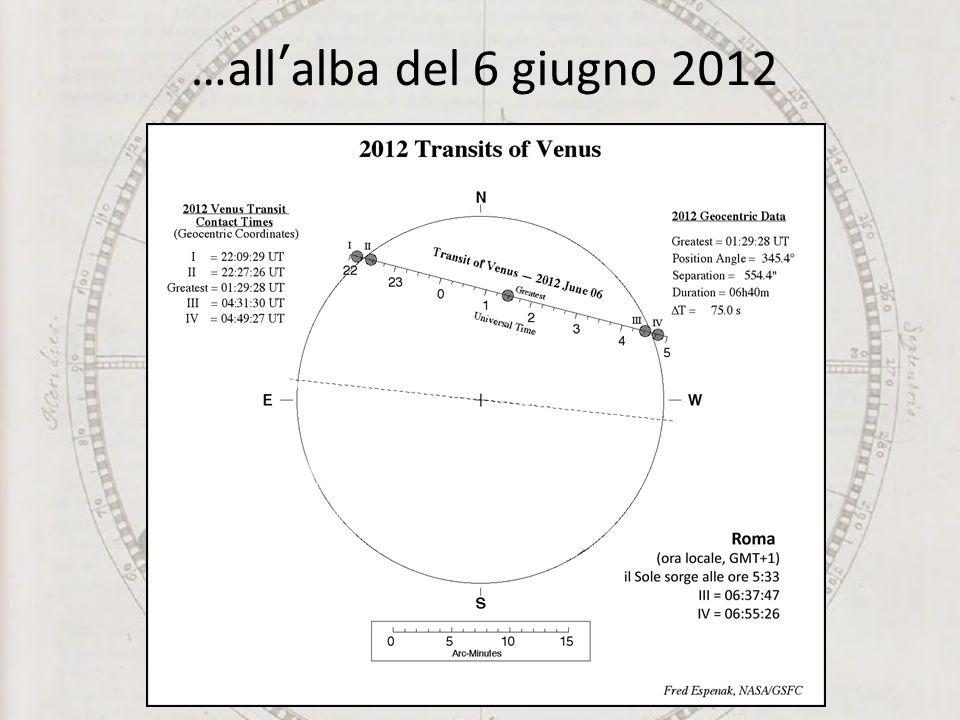 …allalba del 6 giugno 2012