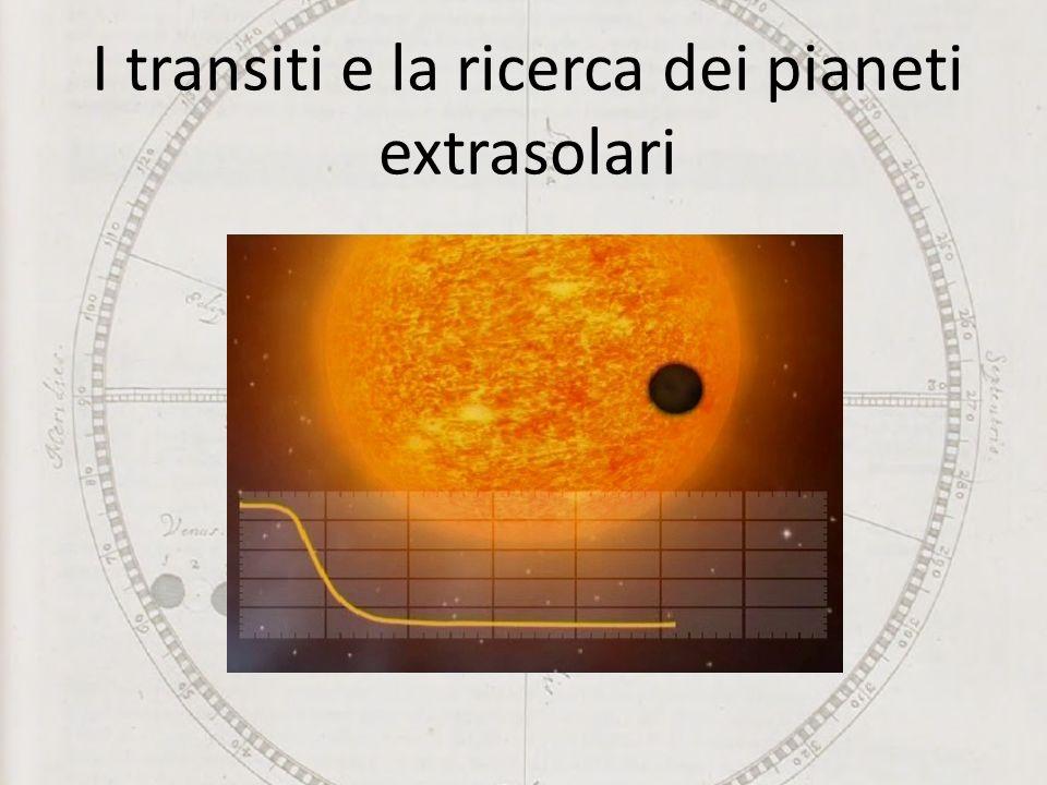 I transiti e la ricerca dei pianeti extrasolari