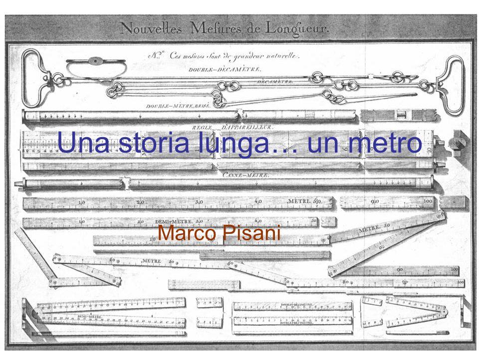 Una storia lunga… un metro Marco Pisani