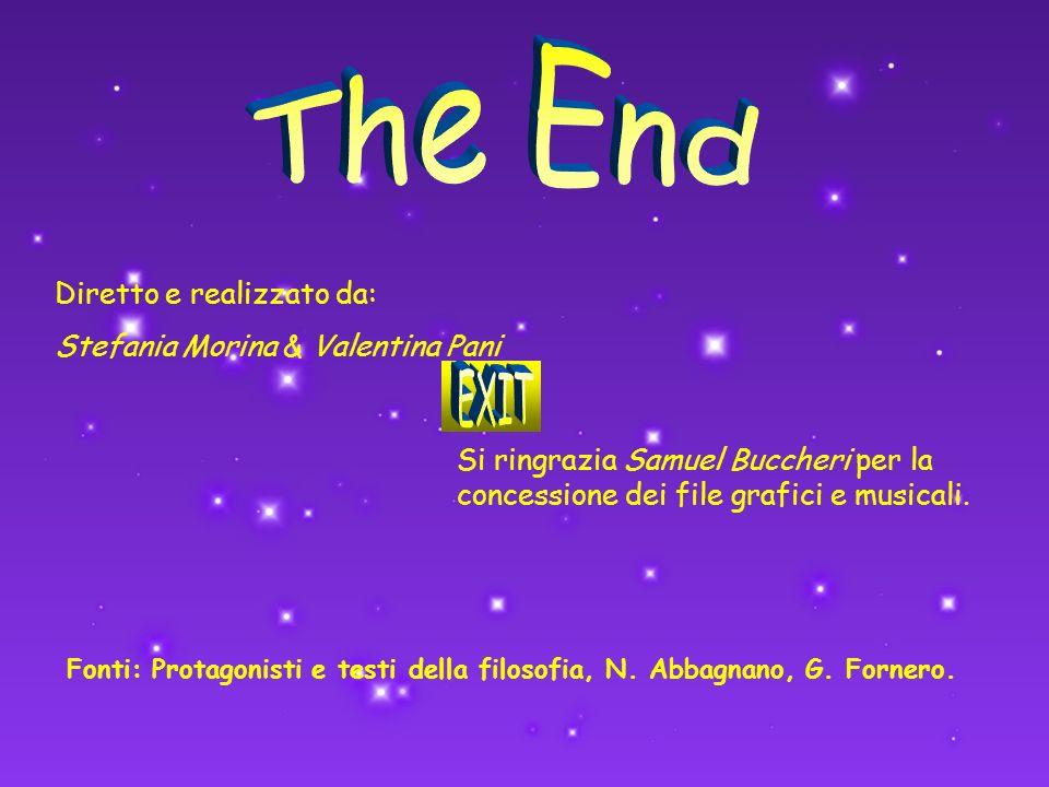 Diretto e realizzato da: Stefania Morina & Valentina Pani Si ringrazia Samuel Buccheri per la concessione dei file grafici e musicali. Fonti: Protagon