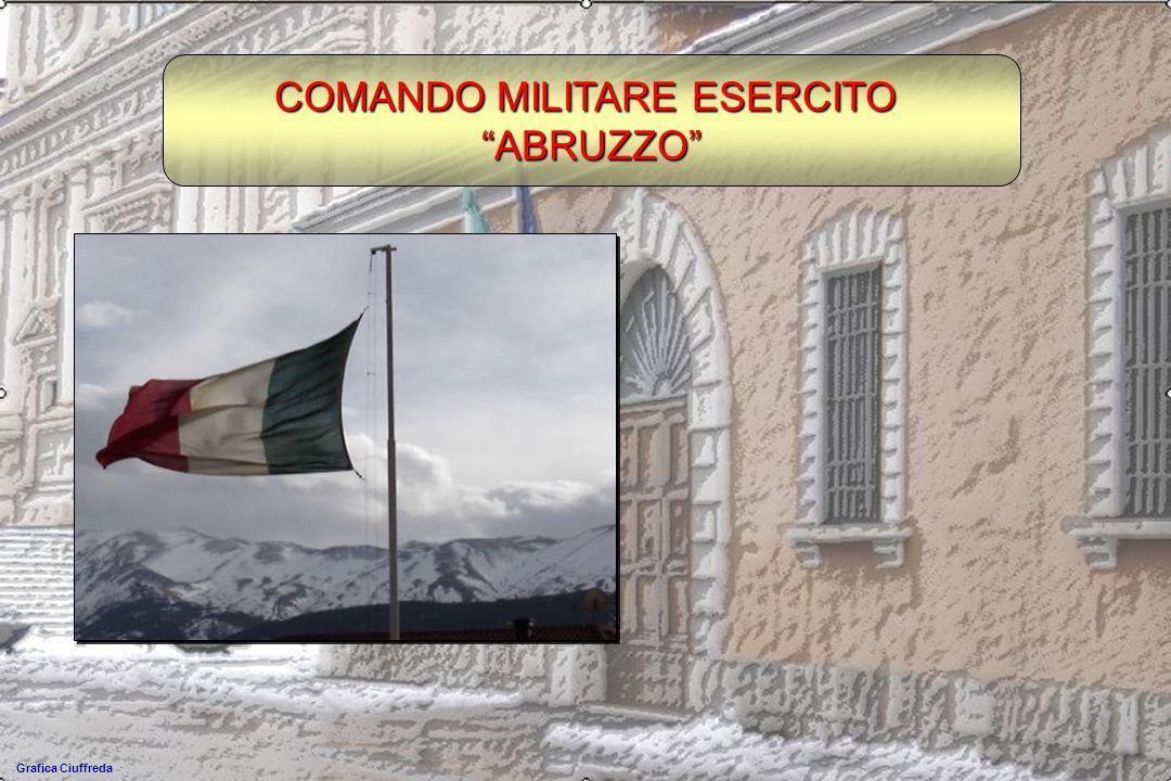 COMANDO MILITARE ESERCITO ABRUZZO Grafica Ciuffreda