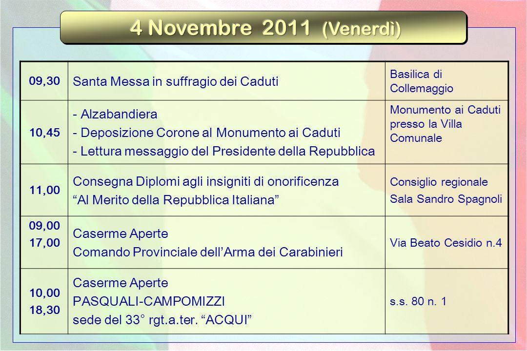 09,30 Conferenza del Prof.