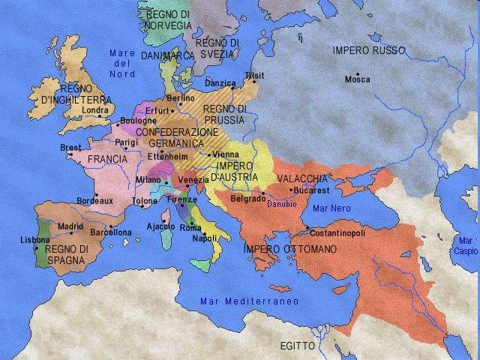Obiettivi del Risorgimento Risorgimento significa rinascere ancora.