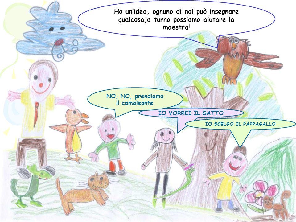 Io sono un grande artista Io conosco tante storie Ehmm, ehmmm Svelerò i segreti della natura Dirigo lorchestra delle nuvole Aiuterò i bambini a divent
